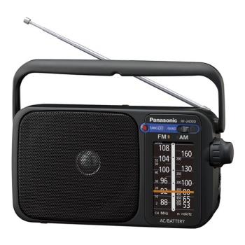 Radiopřijímač Panasonic RF-2400DEG-K černý