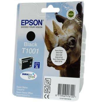 Inkoustová náplň Epson T1001, 25,9ml černá