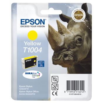 Inkoustová náplň Epson T1004, 11ml žlutá