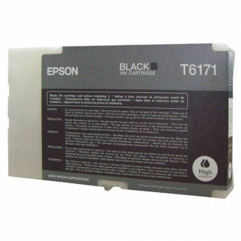Inkoustová náplň Epson T617100, 100ml černá