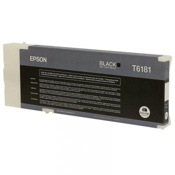 Inkoustová náplň Epson T618100, 198ml černá