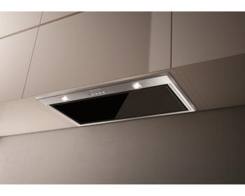 Odsavač par Faber INCA LUX GLASS EV8 X/BK A52 černý/nerez/sklo
