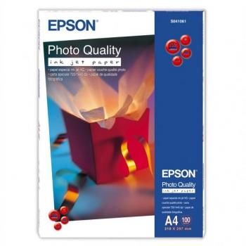 Fotopapír Epson Photo Quality A4, 102g, 100 listů bílý