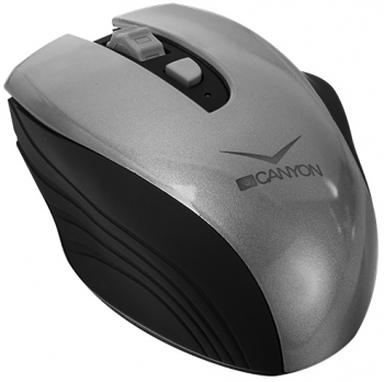Myš Canyon CNS-CMSW7 černá/šedá (/ optická / 3 tlačítka / 1600dpi)