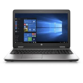 Notebook HP ProBook 650 G3 černý/stříbrný + dárek