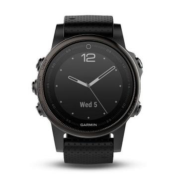 GPS hodinky Garmin Fenix 5S Sapphire černé/šedé