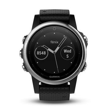 GPS hodinky Garmin Fenix 5S černé/stříbrné