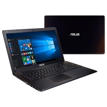 Notebook Asus F550VX-DM604T černý/oranžový