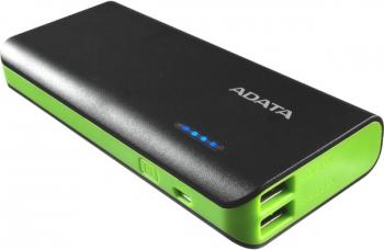 Powerbank ADATA PT100 10000mAh černá/zelená