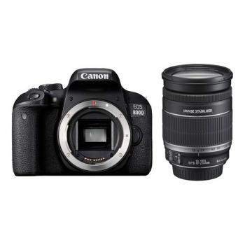 Digitální fotoaparát Canon EOS 800D + 18-200 IS černý