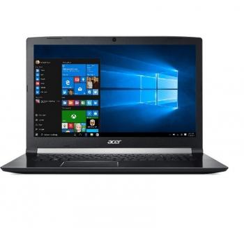 Notebook Acer Aspire 7 (A717-71G-75W6) černý + dárek