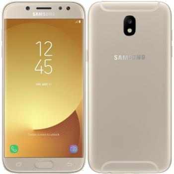 Mobilní telefon Samsung Galaxy J5 (2017) zlatý + dárky