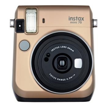 Digitální fotoaparát Fujifilm Instax mini 70 zlatý