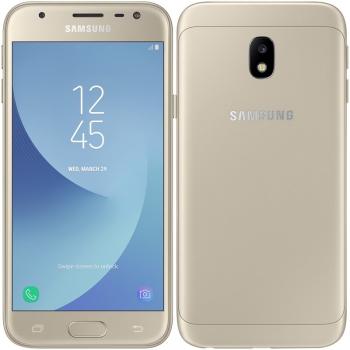 Mobilní telefon Samsung Galaxy J3 (2017) zlatý