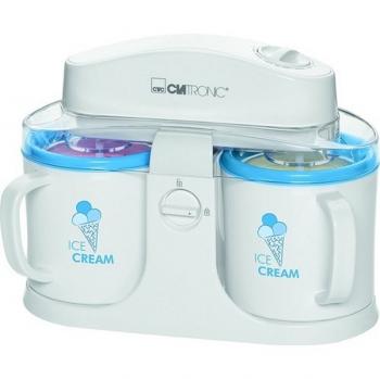 Zmrzlinovač Clatronic ICM 3650 bílý/modrý
