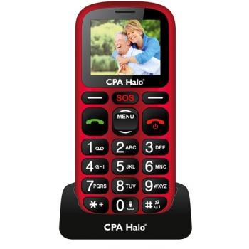 Mobilní telefon CPA Halo 16 Senior červený