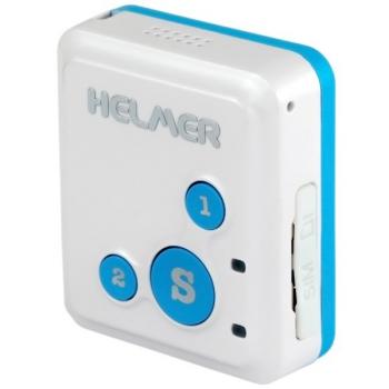 GPS lokátor Helmer LK 503 s obousměrnou komunikací pro sledování osob, zavazdel