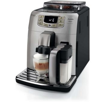 Espresso Saeco Intelia Deluxe HD8906/01  černé/stříbrné