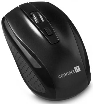 Myš Connect IT CI-1223 černá (/ optická / 4 tlačítka / 1600dpi)