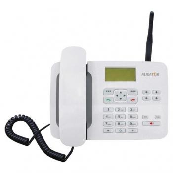 Domácí telefon Aligator T100 (stolní) bílý