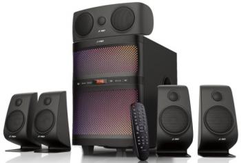 Reproduktory Fenda F&D F5060X 5.1, bluetooth, rádio, USB, SD,  dálkové ovládání černé