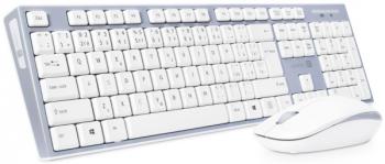 Klávesnice s myší Connect IT CKM-7510-CS, CZ/SK šedá