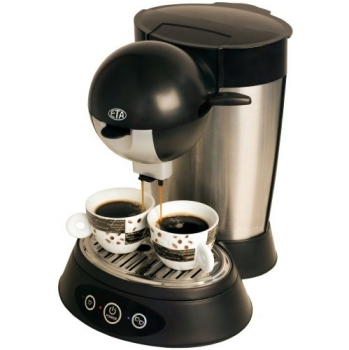 Espresso ETA Rapido 0181 90000 černé/stříbrné
