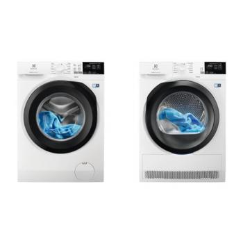 Set (Sušička prádla Electrolux PerfectCare 800 EW8H458BC) + (Pračka Electrolux PerfectCare 600 EW6F428BC)