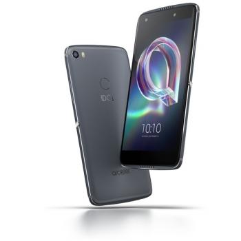 Mobilní telefon ALCATEL IDOL 5S 6060X Single SIM šedý + dárek