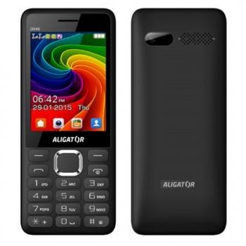 Mobilní telefon Aligator D940 Dual Sim černý