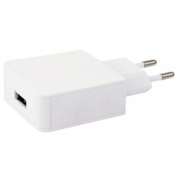 Nabíječka do sítě EMOS QC 3.0, 1x USB, 2,4A (18W) max. bílá