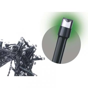 Spojovací řetěz EMOS 100 LED, 10m, zelený