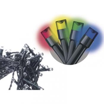 Spojovací řetěz EMOS 100 LED, 10m, multicolor
