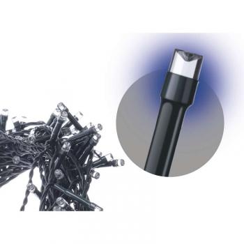 Spojovací řetěz EMOS 100 LED, 10m, modrý