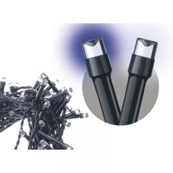 Vánoční osvětlení EMOS 120 LED řetěz pulzující, 12m, IP44, studená/teplá bílá, časovač