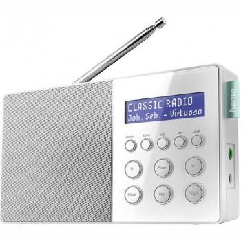 Radiopřijímač s DAB+ Hama DR10 bílý