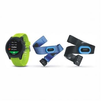 GPS hodinky Garmin Forerunner 935 TRI Bundle černé/zelené