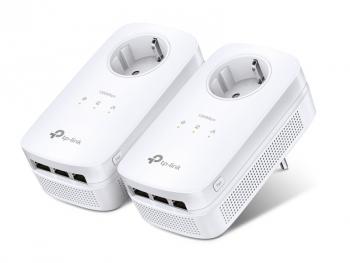 Síťový rozvod LAN po 230V TP-Link TL-PA8030PKIT bílý