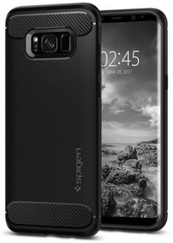 Kryt na mobil Spigen Rugged Armor Samsung Galaxy S8+ černý