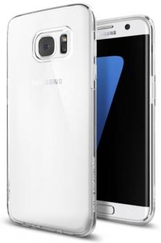 Kryt na mobil Spigen Liquid Crystal Samsung Galaxy S7 Edge průhledný