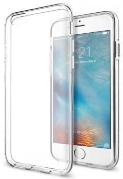 Kryt na mobil Spigen Liquid Crystal Apple iPhone 6/6s průhledný