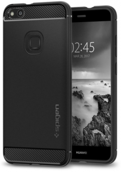 Kryt na mobil Spigen Rugged Armor Huawei P10 Lite černý