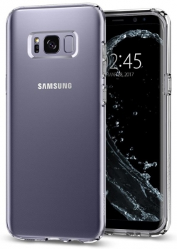 Kryt na mobil Spigen Liquid Crystal Samsung Galaxy S8+ průhledný