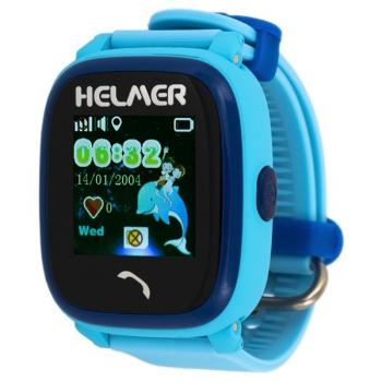 Chytré hodinky Helmer LK 704 dětské s GPS lokátorem modré