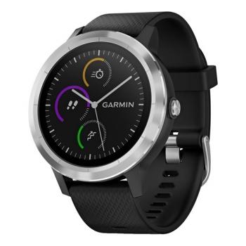 GPS hodinky Garmin vívoActive3 Optic černé/stříbrné