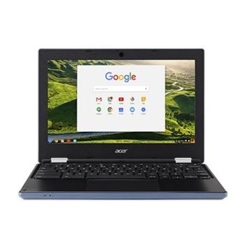 Notebook Acer Chromebook 11 (CB3-131-C7W4) modrý + dárky