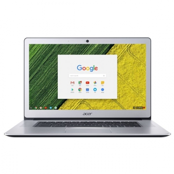 Notebook Acer Chromebook 15 (CB515-1H-C9FU) stříbrný + dárek