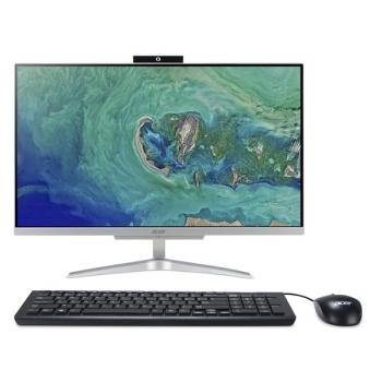Počítač All In One Acer Aspire C24-860 stříbrný + dárky