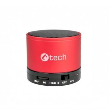 Přenosný reproduktor C-Tech SPK-04R červený