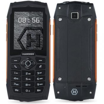 Mobilní telefon myPhone HAMMER 3 Dual SIM oranžový